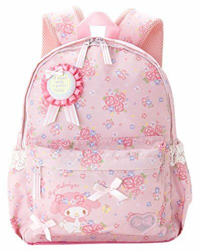Sanrio My Melody Enfants Dos M Fleur 10l Shool Sac Rose Neuf à partir de Japon F
