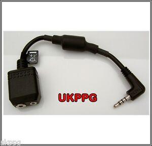 2 TO 1 Aviation Headset Adaptor Plug