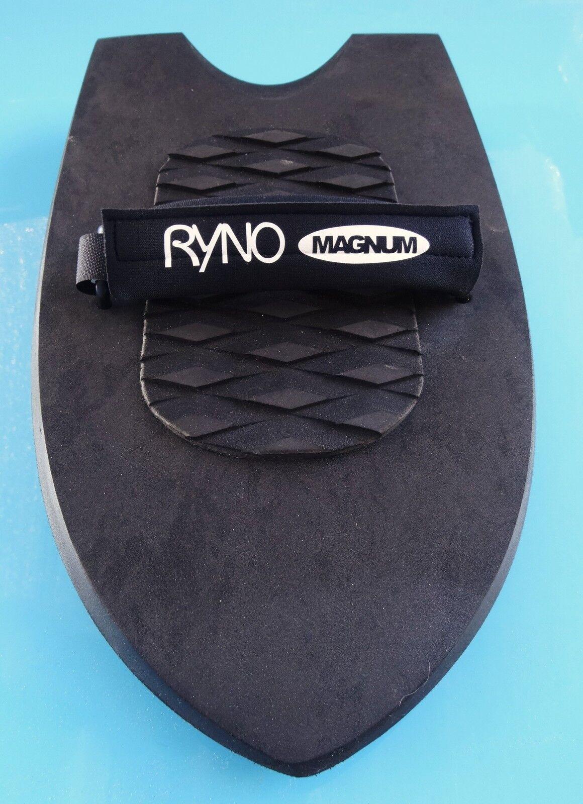 RYNO MAGNUM twin fins handplane handboard bodysurfer board with free wrist leash