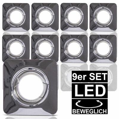 4er Set LED Einbau Leuchten Decken Spots Strahler Bad Lampen Karton beschädigt