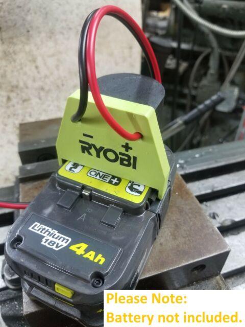 18V Li-ion Battery Output Adapter DIY Power Wheel Conversion 3D Print Ryobi One