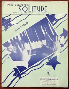 Duke-Ellington-Solitude-Piano-Solo-Pub-1934