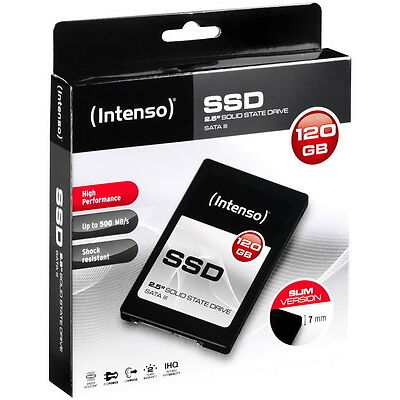 Intenso SSD interne Festplatte High Performance TLC 2,5 Zoll 120GB SATA III