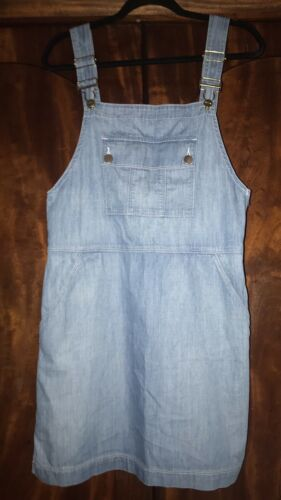 Frame Le apron Reese Soft Denim Overall Skirt Dre… - image 1