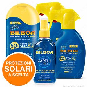 Bilboa Protezione Solare Bimbi Latte Spray Scioglinodi Capelli SPF 50+ 30 Scelta