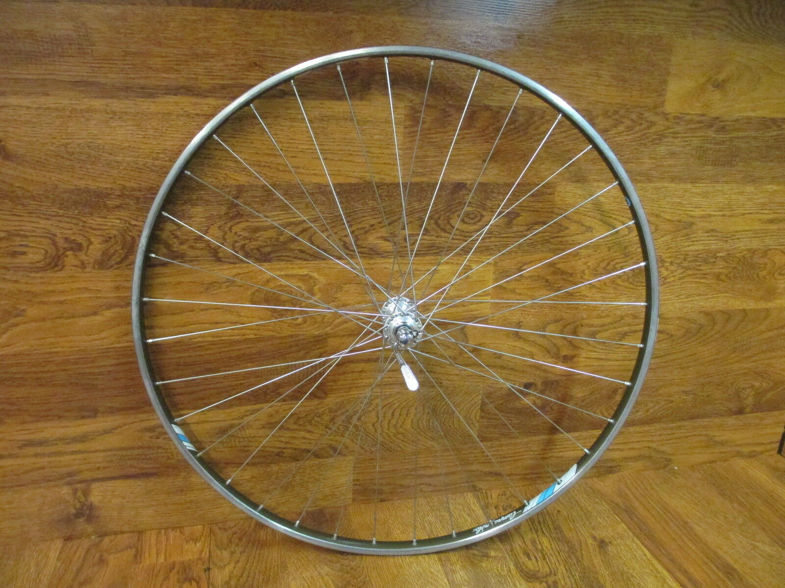 VINTAGE CAMPAGNOLO SIGMA STRADA HARDOX 36H RECORD  TUBULAR FRONT WHEEL  timeless classic