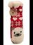 Indexbild 1 - Chaussons chaussette Noël antidérapantes avec doublure polaire douce