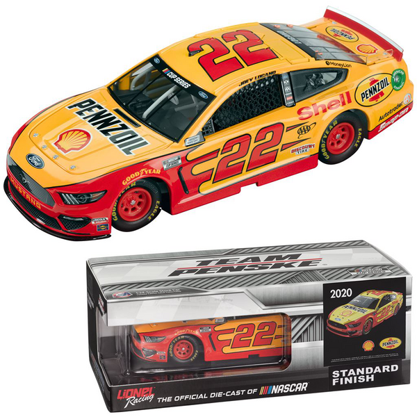 2019 Joey Logano Ford Mustang Auto Trader NASCAR Diecast 1: 24 Scale Lionel Racing