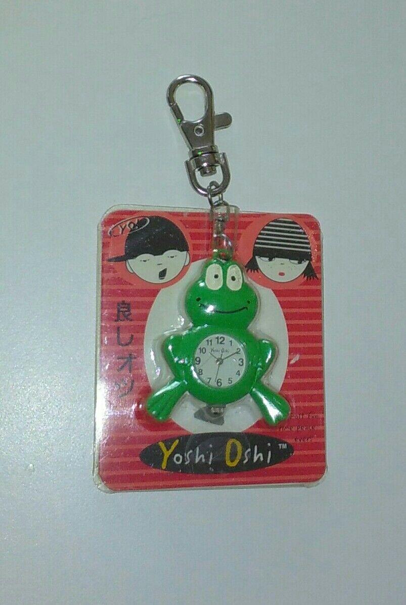 calidad garantizada Yoshi Oshi Rana Llavero Reloj Cooper & Co. 2005 2005 2005 MIP nuevo en paquete súper Raro envío y manipulación gratuitos Gratis   cómodo