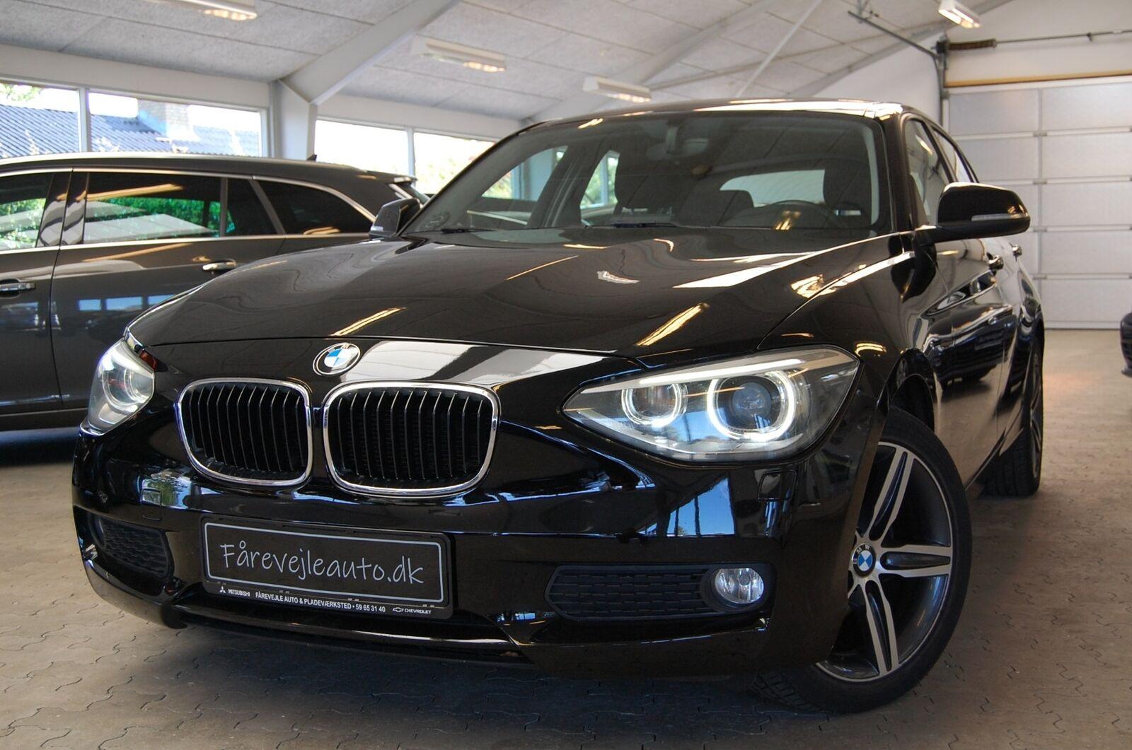 BMW 116d 2,0 aut. 5d - 118.900 kr.