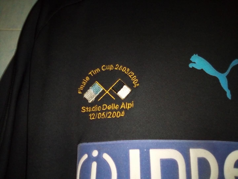 LAZIO LAZIO LAZIO MAGLIA 2004 finale Coppa Italia INDOSSATA STAM dd591f