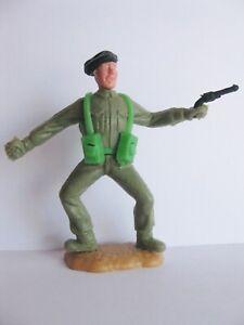 TIMPO-TOYS-BLACK-BERET-BERET-NOIR-WW2-WWII-ARMY-SOLDIER-WW-2-WW-II-4