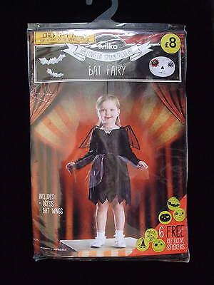 3-4 Anno Bat Fata Halloween + 6 Adesivi Riflettenti Giornata Mondiale Del Libro-mostra Il Titolo Originale Materiale Selezionato
