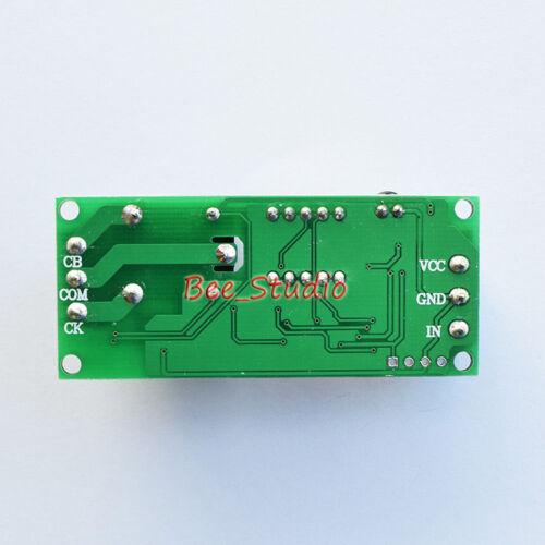 Courant Direct 12 V 24 V DEL numérique infinie Cycle retardateur Sur Interrupteur On//Off relais Module