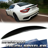 Ship From La Unpaint Abs Maserati Gran Turismo Gt 2d Coupe S Mc Trunk Spoiler 14