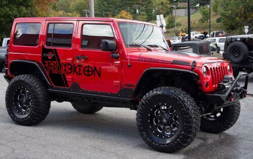 vinyl stickers Side Swipe-Jeep Graphics-Vehicle decals graphics