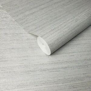 Modern-Wallpaper-Rustic-Gray-Silver-metallic-faux-grasscloth-lines-textured-roll