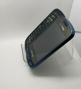 Samsung-Brightside-SCH-U380-Blue-Slider-Cell-Phone-FOR-PARTS