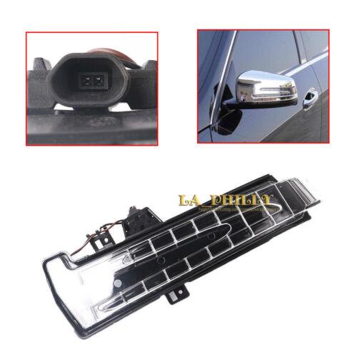 Front Left Door Mirror Turn Signal Indicator Light For Mercedes W204 W212 W221