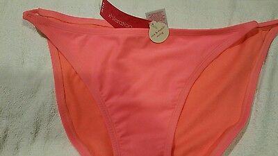 Retail 14.99 Xhilaration XLSwim Bottoms Hot Pink String Bikini XL NEW