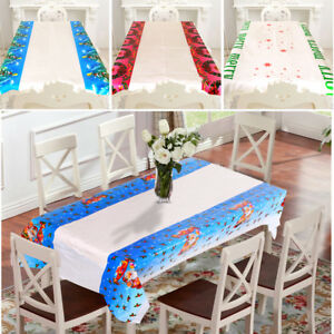 110-180cm-Home-Xmas-Table-Cover-Festival-Decor-Santa-Claus-Christmas-Tablecloth
