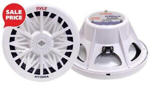 PYLE PLMRW12 12-inch free-air 600 Watt Marine Subwoofer - White Canada Preview