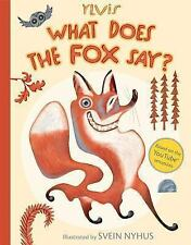 What Does the Fox Say? by Christian Løchstøer and Ylvis (2013, Picture Book)