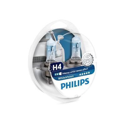 Philips WhiteVision H4 Glühlampe mit weißem Xenon-Effekt, 2 Stück