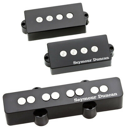 Seymour Duncan spjb-3s spjb-3s spjb-3s quarter-pound Pj Bass emparejado neck bridge Pickup Set, Nuevo bfb781