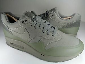 WMNS 2015 Nike Air Max 1 V SP SZ 7.5 Steel Green Patches Pack Nikelab 704901-300