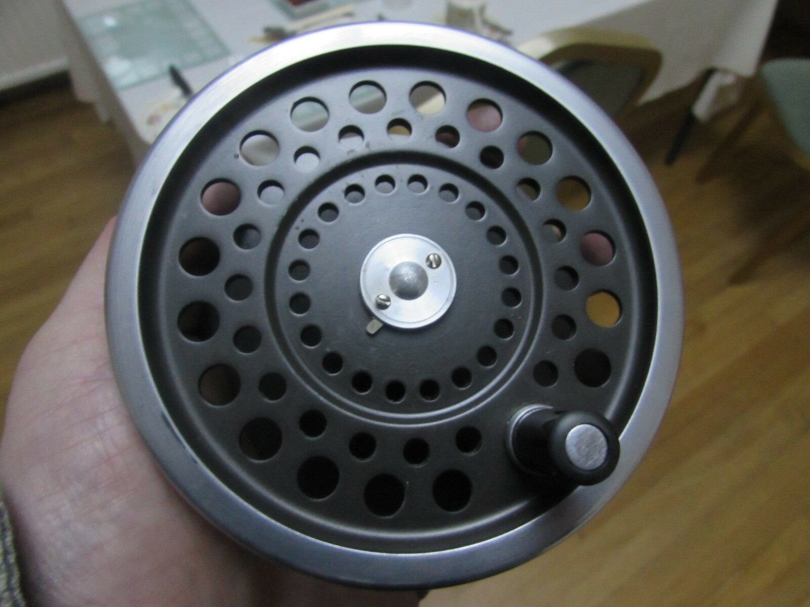 Excellent vintage hardy marquis no. 2 spool for salmon fly fishing reel ,.,.,