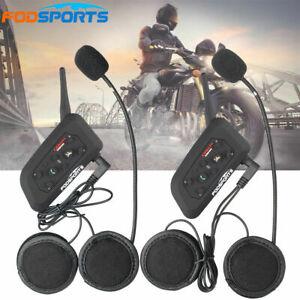 4 x bluetooth interphone 2 voies casque de moto ebay