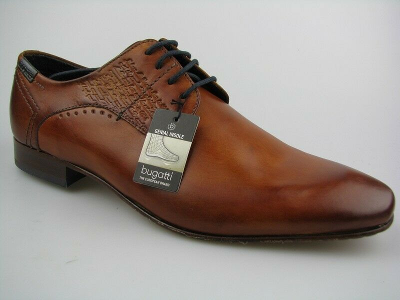 Bugatti Herren Business-Schuh U8107-PR1W U8107-PR1W Business-Schuh Leder Gr.42 5328fd