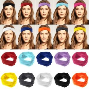 HOT-Women-Cotton-Turban-Twist-Head-Knot-Headband-Wrap-Twisted-Knotted-Hair-Band