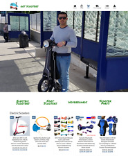 Dropshipping Scooters eCommerce Website Business Ready to Go with HUGE Potential
