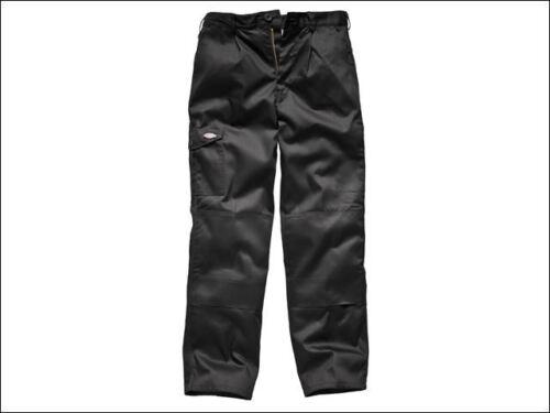 Dickies-Redhawk Cargo Pantaloni Nero Girovita 36 pollici regolari