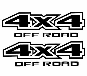 New Off Road Decal Sticker Truck Suv Ford Chevy Dodge