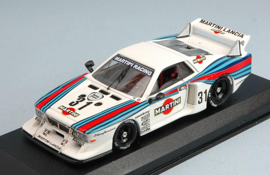 Lancia Beta Martini  31 10th nurburgring 1981 pesCocheolo de Cesaris 1 43 Model
