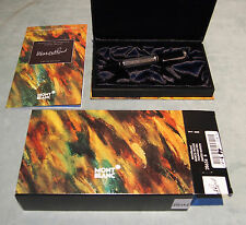 MONTBLANC MARCEL PROUST LIMITED EDITION 18 K GOLD & STERLING C 1999 /BOXES & CER