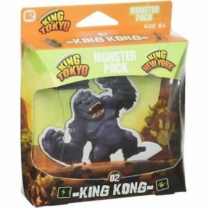 Highly Interactive High Quality King of Tokyo King Kong Monster Pack Board Game