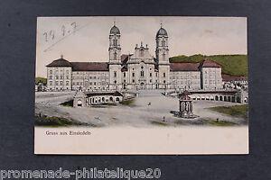 Tarjeta-Postal-Antigua-Einsiedeln
