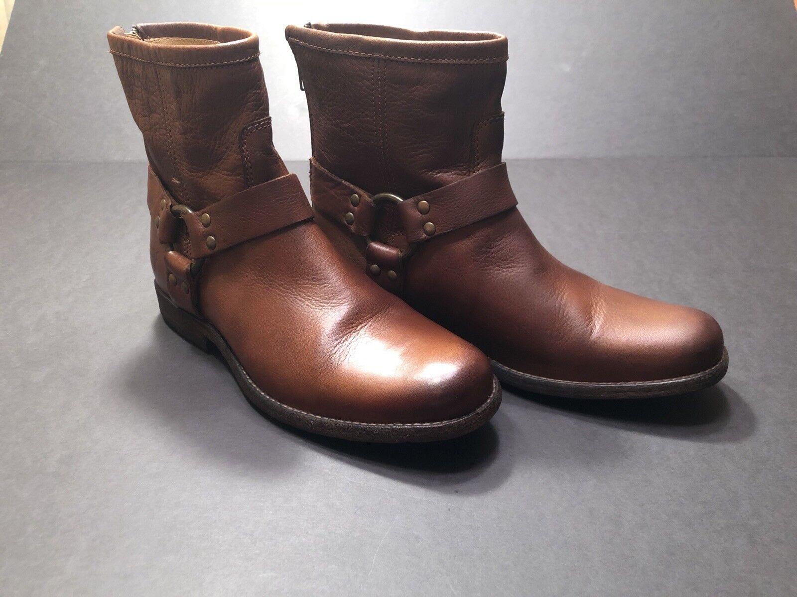 Frye Women's Phillip Harness Boots - Round Toe Toe Toe s n 3476870 9c529d