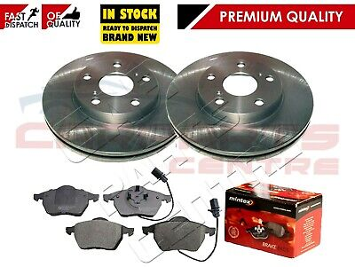 NEW MINTEX FRONT BRAKE DISCS SET MDC1540 FREE NEXT DAY DELIVERY