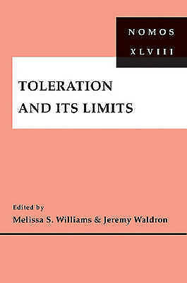 1 of 1 - USED (LN) Toleration and Its Limits: NOMOS XLVIII (Nomos (Hardcover))