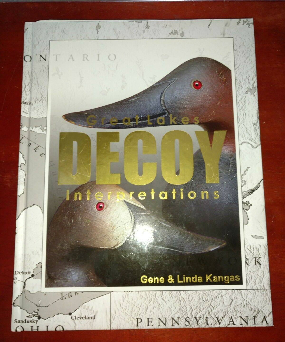 Great lakes decoy interpretation  Waterfowl Decoys  SIGNED KANGAS book  100% brand new with original quality