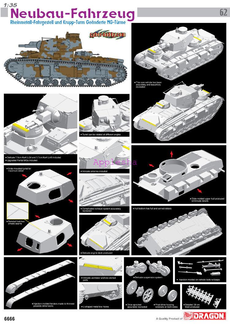 Dragon 1 35 6666 Neubau-Fahrzeug  Model kit