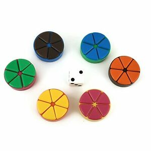 Trivial-Pursuit-Replacement-Parts-Tokens-Scoring-Wedges-Pieces-Pie-Movers-Set
