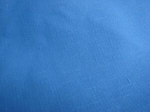 OVER 2 YARDS OF VINTAGE LIGHT BLUE TEXTURED DOUBLE KNIT FABRIC