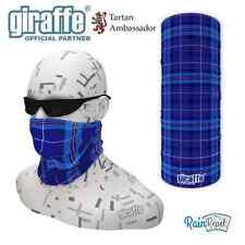 O2 blu scozzese tartan multifunzionale Headwear Fromlowitz basso di lenza Bandana tube