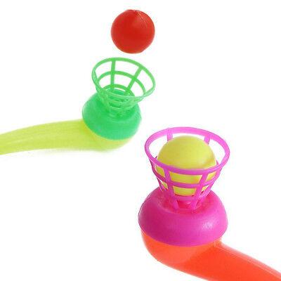 Amusing Intellectual Hanging Suspension Pipe Blowing Ball Kids Educational Toy
